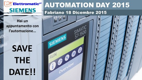 Automation Day 2015