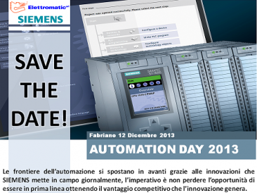 Automation Day 2013